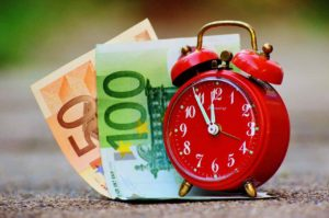 Zeit ist Geld bei Krediten